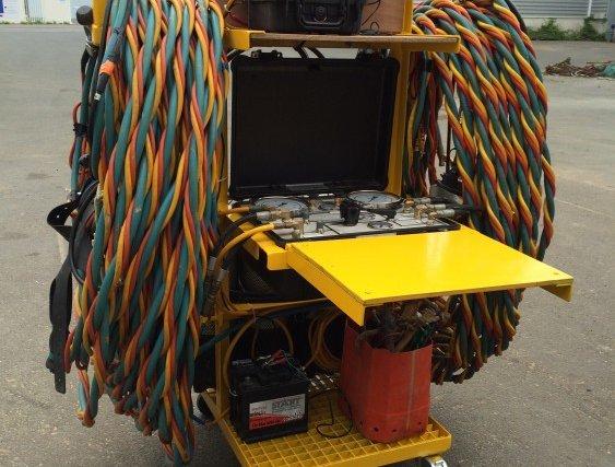 Poste mobile 2 plongeurs